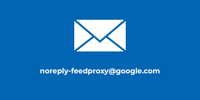 Письмо от noreply-feedproxy@google.com