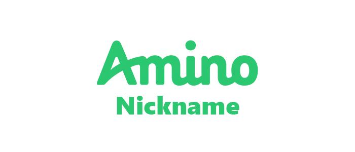 Ники для Амино