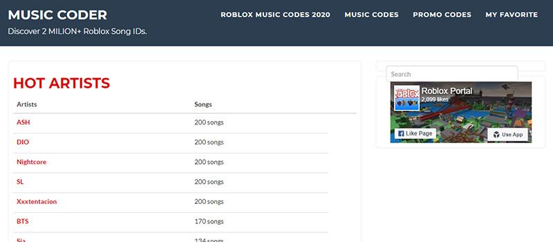 Музыкальный сайт Music Coder